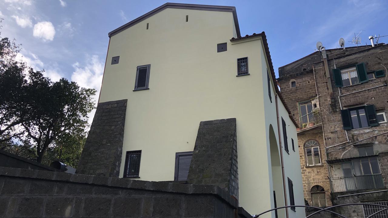 Progetto di restauro palazzo Piano di Sorrento